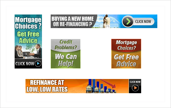 Banner-ad samples