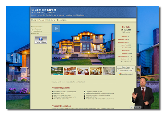 MLS compliant Virtual Tour Link